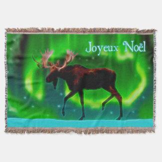 Couvertures Joyeux Noёl - orignal de lumières du nord