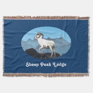Couvertures Loge de crête de moutons