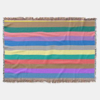 Couvertures Motif coloré d'arc-en-ciel
