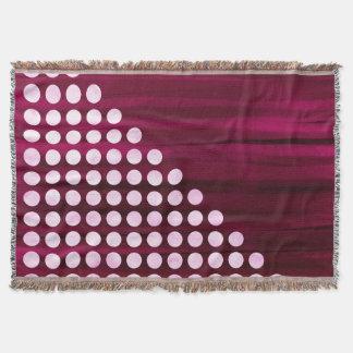 Couvertures Motif de point de polka de velours