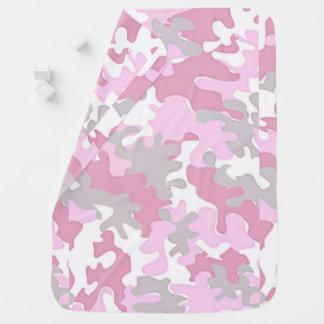 Couvertures Pour Bébé Camouflage de rose de bébé
