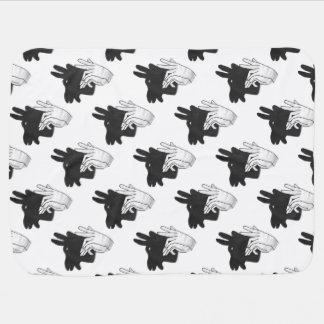 Couvertures Pour Bébé Chèvre de Billy de silhouette de main