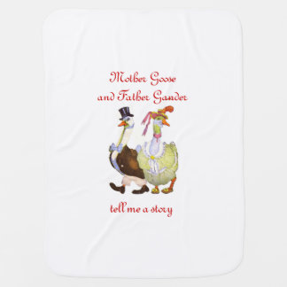 Couvertures Pour Bébé Coup d'oeil de père d'oie de mère