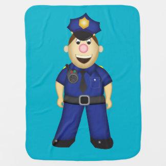 Couvertures Pour Bébé Couverture américaine de policier