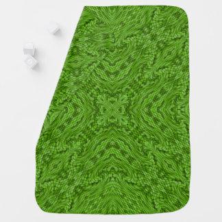 Couvertures Pour Bébé Couvertures colorées vertes allantes de bébé