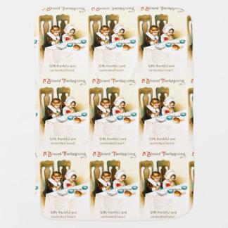 Couvertures Pour Bébé Cru une couverture bénie de bébé de thanksgiving