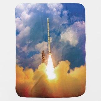 Couvertures Pour Bébé Décollage de lancement de Rocket de scout de la