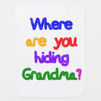 Couvertures Pour Bébé D'où cachez-vous la grand-maman ?