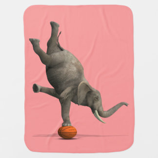 Couvertures Pour Bébé Éléphant artistique
