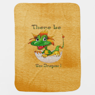 Couvertures Pour Bébé Il y ait les dragons petits