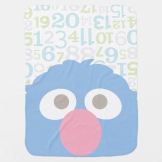 Couvertures Pour Bébé Le bébé Grover font face