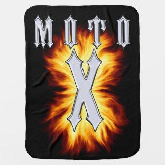 Couvertures Pour Bébé Moto X est sur le feu
