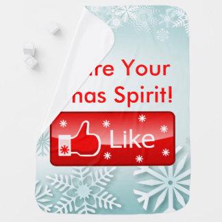 Couvertures Pour Bébé Partagez votre esprit de Noël