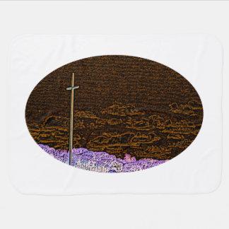 Couvertures Pour Bébé paysage inverti de croquis de St Augustine de