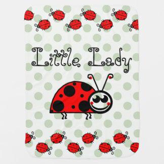 Couvertures Pour Bébé Petite couverture de pois de Madame Custom