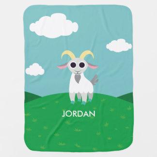 Couvertures Pour Bébé Stanley la chèvre
