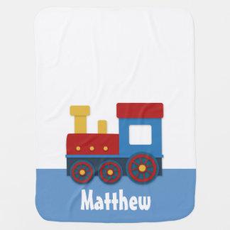Couvertures Pour Bébé Train mignon et coloré de Choo Choo pour le bébé