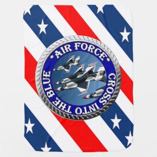 Couvertures Pour Bébé USAIRFORCEFANMERCH, conception de l'Armée de l'Air