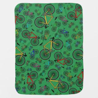 Couvertures Pour Bébé Vélos verts de route