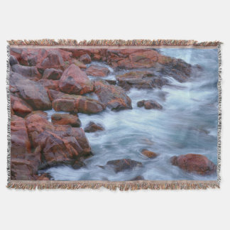 Couvertures Rivage rocheux avec de l'eau, Canada