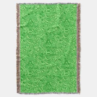 Couvertures Vert d'Indien, de chaux et de kiwi de William