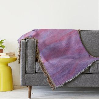 Couvertures Zèbre pourpre rose chic nommé adaptable du décor |