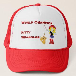 Cowboy de Kitty de champion du monde Casquette