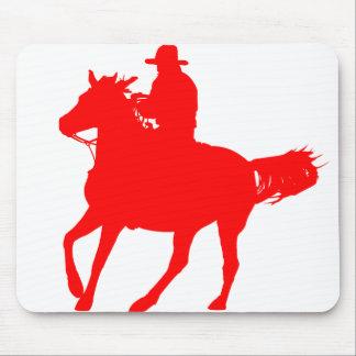 cheval cowboy tapis pour souris. Black Bedroom Furniture Sets. Home Design Ideas