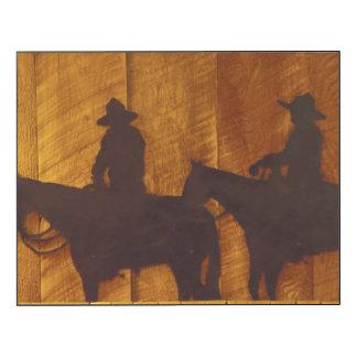 Cowboys des Etats-Unis, Montana, rivière de