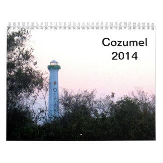 Cozumel Onderwater 2014 Kalender