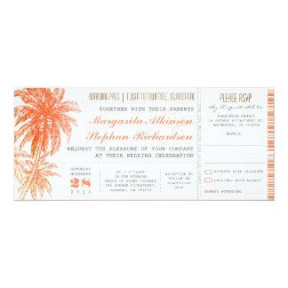 Cr helderdere kleur 10,2x23,5 uitnodiging kaart
