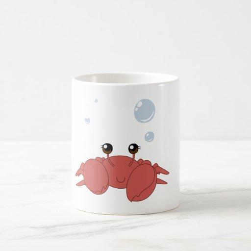 Crabe mignon tasse à café