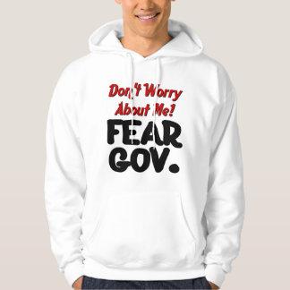 crainte veste à capuche