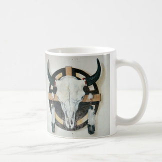 Crâne de bison mug