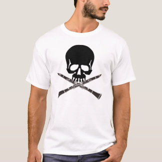 Crâne de clarinette t-shirt