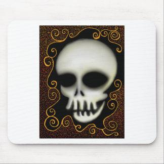 Crâne de fantôme tapis de souris