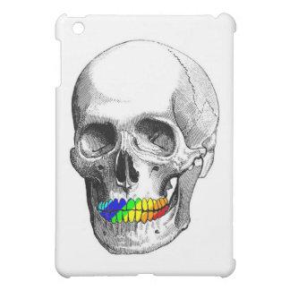 Crâne de gril d'arc-en-ciel coque pour iPad mini