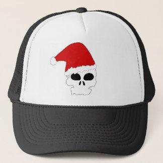 Crâne de Père Noël Casquette
