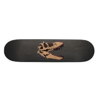 Crâne de T-Rex Plateau De Planche À Roulettes