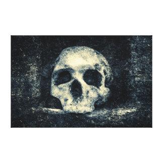 Crâne d'horreur de Halloween Toile