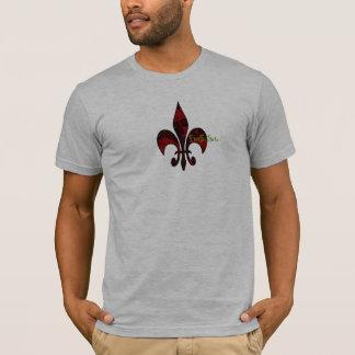 Crâne-fleur-De-lis T-shirt