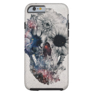 Crâne floral 2 coque tough iPhone 6