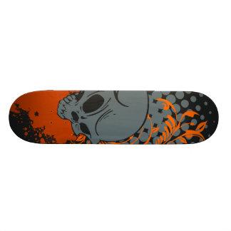 Crâne foncé plateaux de skateboards customisés