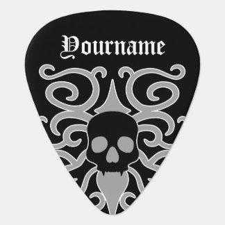 Crâne gothique de Halloween Onglet De Guitare
