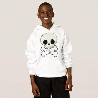 Crâne hoodie pour des enfants