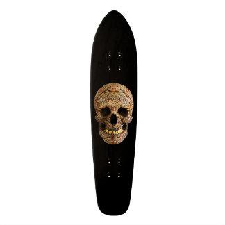 Crâne maya skateboard