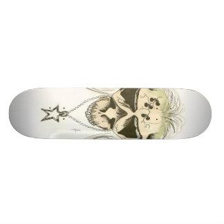 crâne satan skateboards customisés