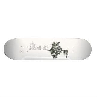 crâne skateboards personnalisables