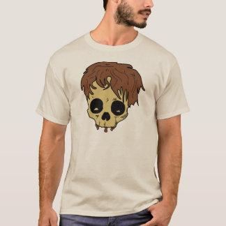 Crâne supérieur ouvrier de quatre balais t-shirt