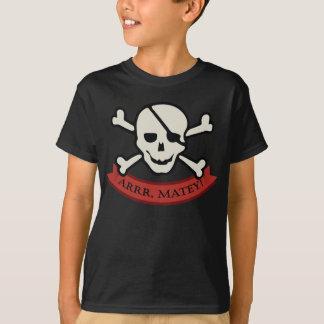 Crâne - T-shirt de base de Hanes Tagless des